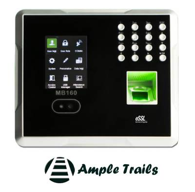 eSSL mb 160 Multi-Biometric Time Attendance Terminal with Access Control Functions