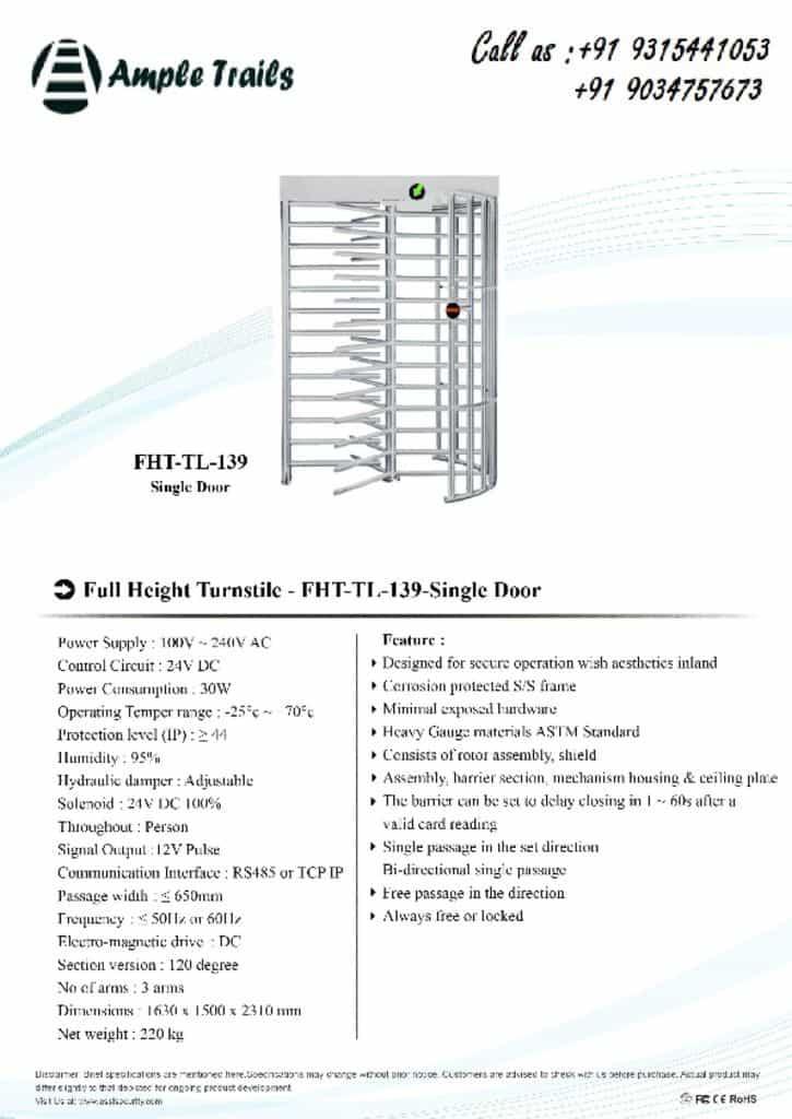 thumbnail of FHT-TL-139(single-door)