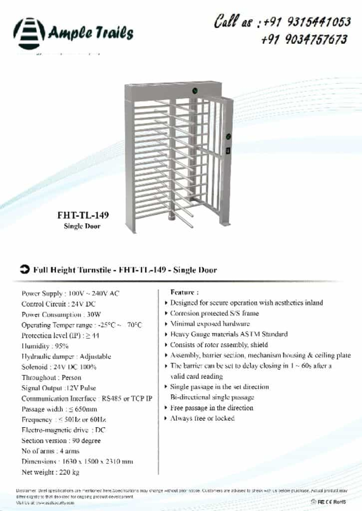 thumbnail of FHT-TL-149(single-door)