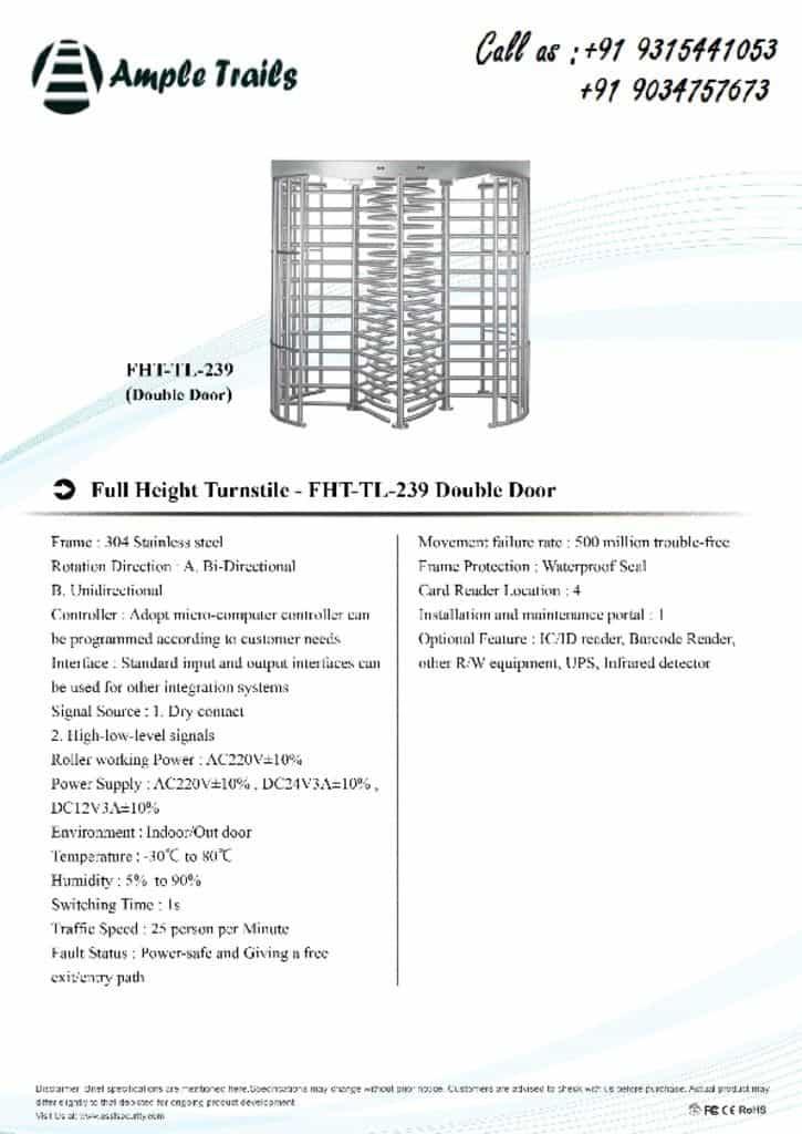 thumbnail of FHT-TL-239(double-door)