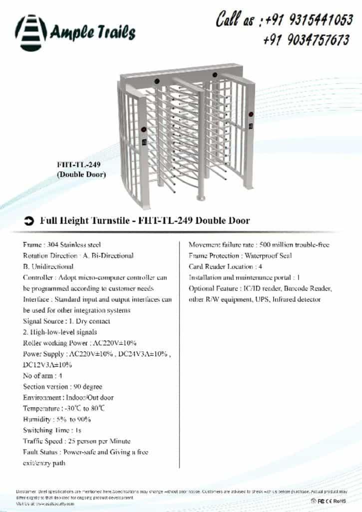 thumbnail of FHT-TL-249(double-door)