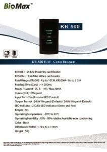 thumbnail of KR500 – Biomax