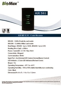 thumbnail of KR503 – Biomax