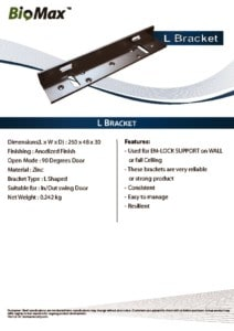thumbnail of L Bracket – Biomax