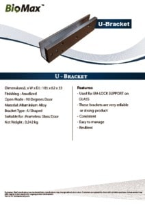 thumbnail of U Bracket – Biomax