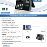 Biomax Lx16 Biometric Attendance Machine